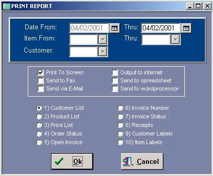Using Crystal Reports with dBase